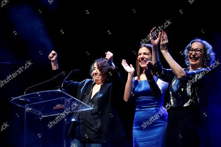 Stock Picture of Petra Martinez, Mamen Camacho and Luisa Gavasa