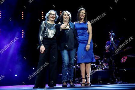 Petra Martinez, Mamen Camacho and Luisa Gavasa
