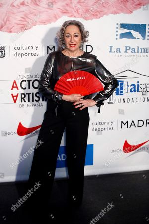 Editorial image of Actors and Actresses Union Awards Gala, Madrid, Spain - 12 Mar 2018