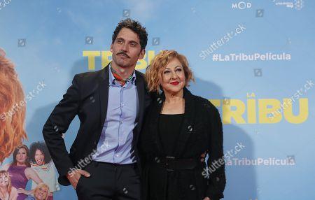 Carmen Machi and Paco Leon