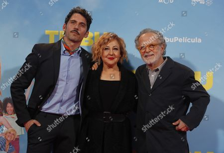 Carmen Machi, Paco Leon and Fernando Colomo
