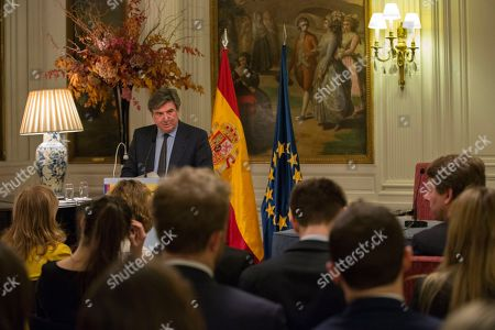 Editorial image of Brexit discussion event at Spanish Embassy in London, United Kingdom - 12 Mar 2018