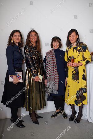 Stock Image of Flavia Nespatti, Maria Sukkar, Prue O'Day and Anna Yang