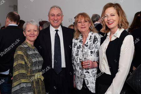 Stock Image of Maria Bashaw, Marco Campagnoni, Louisa Buck and Julia Peyton-Jones