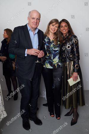 Bertrand Coste, Daria Kirsanova and Maria Sukkar