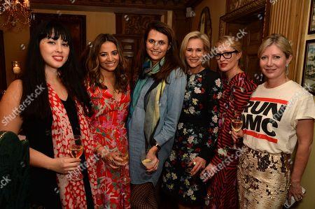 Melissa Hemsley, Katy Wickremesinghe, Olivia Cole, Tia Graham, Isabella McPherson and Sigrid Kirk