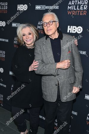 Sheila Nevins and John Guare