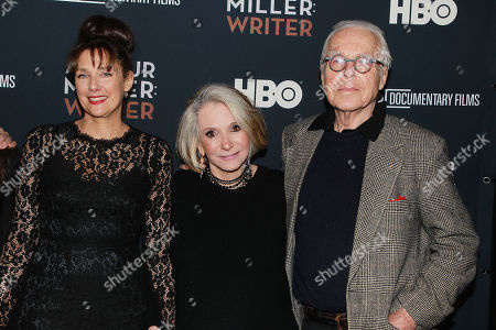 Rebecca Miller, Sheila Nevins and John Guare