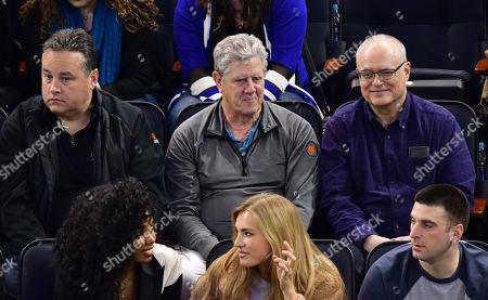 Editorial photo of Celebrities at Carolina Hurricanes v New York Rangers, NHL ice hockey match, Madison Square Gardens, New York, USA - 12 Mar 2018