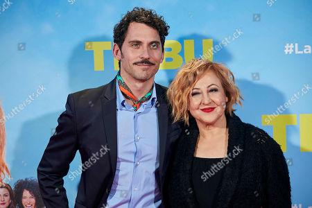 Paco Leon and Carmen Machi