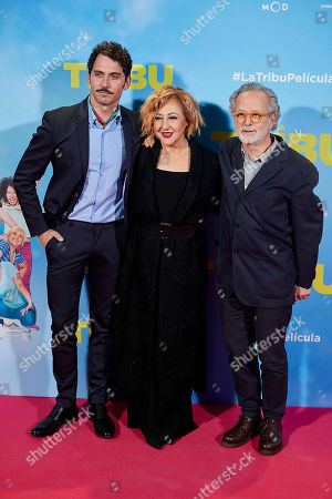 Paco Leon, Carmen Machi and Fernando Colomo