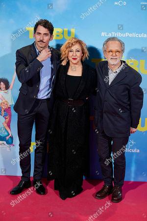 Paco Leon, Carmen Machi and Fernando Colomo