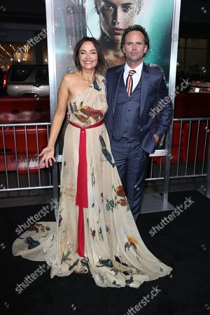 Walton Goggins and wife Nadia Conners