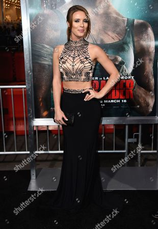 """Editorial photo of US Premiere of """"Tomb Raider"""", Los Angeles, USA - 12 Mar 2018"""
