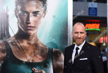 "Director Roar Uthaug arrives at the U.S. premiere of ""Tomb Raider"" at the TCL Chinese Theatre, in Los Angeles"