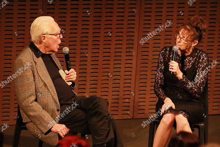 Stock Photo of John Guare and Rebecca Miller