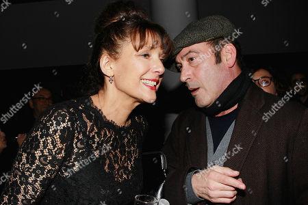Rebecca Miller and John Ventimiglia