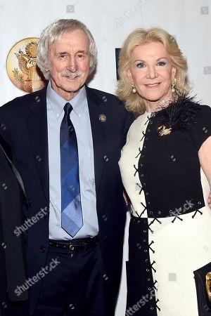 Bill Milliken, Elaine Wynn. Bill Milliken, left, and Elaine Wynn attend the Jefferson Awards Foundation's New York City Gala on in New York