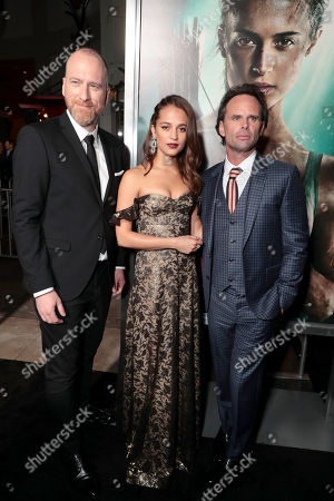 Roar Uthaug, Director, Alicia Vikander, Walton Goggins