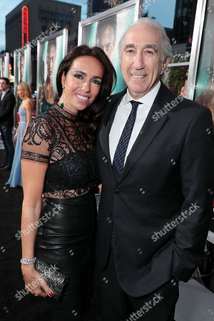 Nadine Barber, Gary Barber, Chairman and Chief Executive Officer of Metro-Goldwyn-Mayer Inc. (MGM),