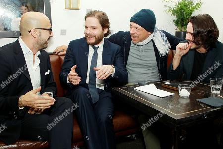 Peter Kujawski (Chairman of Focus Features), Daniel Bruhl, Jose Padilha (Director), Ben Schnetzer