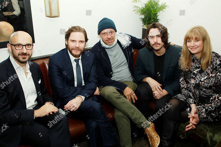 Peter Kujawski (Chairman of Focus Features), Daniel Bruhl, Jose Padilha (Director), Ben Schnetzer, Kate Solomon (Producer)