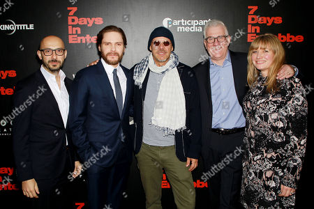 Editorial image of Special New York Screening celebrating Focus Features '7 Days in Entebbe' at the Metrograph, New York, USA - 12 Mar 2018