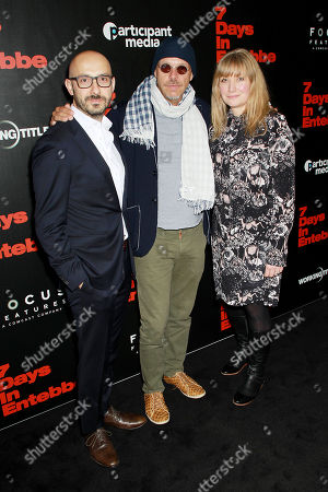Peter Kujawski (Chairman of Focus Features), Jose Padilha (Director), Kate Solomon (Producer)