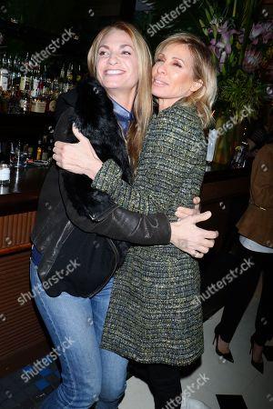 Stock Image of Heather Thomson and Carole Radziwill