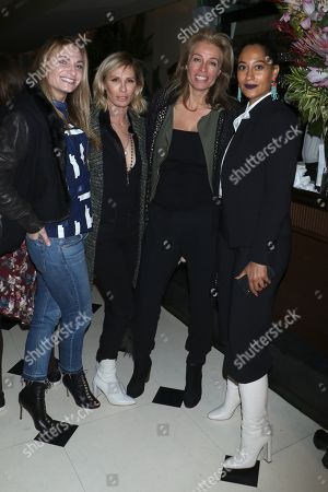 Heather Thomson, Carole Radziwill, Frederique Van Der Wal and Tracee Ellis Ross