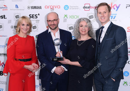 Louise Minchin, James Honeyborne, guest and Dan Walker