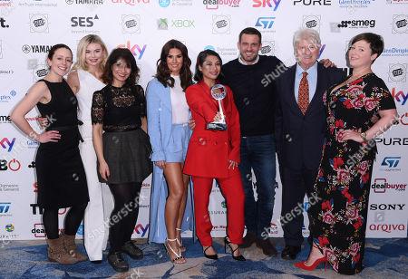 I'm a Celebrity cast - Georgia Toffolo, Shappi Khorsandi, Rebekah Vardy, Vanessa White, Jamie Lomas, Stanley Johnson