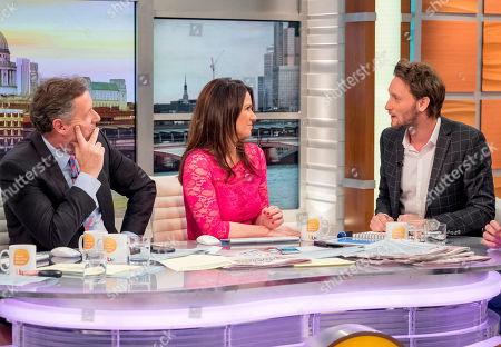 Piers Morgan, Susanna Reid, Lior Suchard