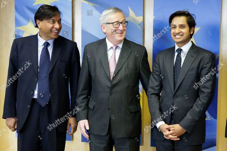 Editorial photo of Lakshmi Mittal visit to Brussels, Belgium - 06 Mar 2018