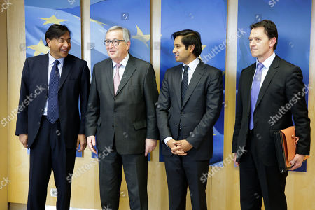 Editorial picture of Lakshmi Mittal visit to Brussels, Belgium - 06 Mar 2018