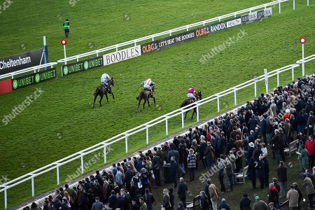 A view of the OLBG Mares' Hurdle (Grade 1) (Registered As The David Nicholson Mares' Hurdle)Â