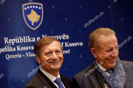 Behgjet Pacolli and Karl Erjavec