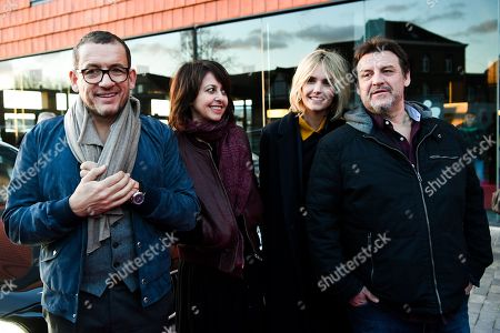 Dany Boon, Laurence Arne and Valerie Bonneton