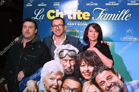 Dany Boon, Valerie Bonneton and Francois Berleand