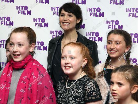 Gemma Arterton and children