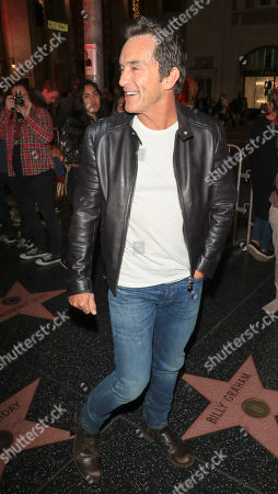 Stock Image of Jeff Probst outside TCL Chinese Theatre