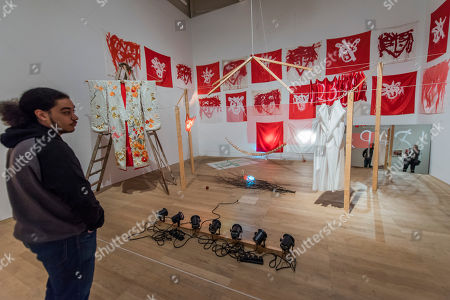 The Juniper Tree, combines props; costumes together and original drawings made during Jonas's performances - Joan Jonas, Tate Modern opens largest survey of pioneering performance artist's work from her five decade career. It includes an immersive gallery exhibition and live performance programme.