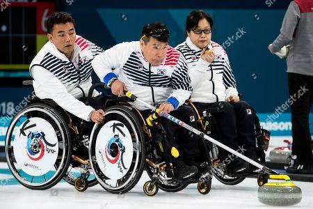 Cha Jae-goan, Bang Min-ja and Jung Seung-won
