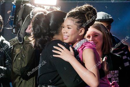 Oprah Winfrey and Storm Reid