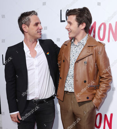 Greg Berlanti and Nick Robinson