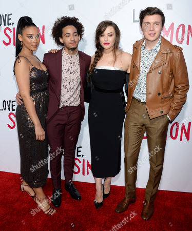 Katherine Langford and Nick Robinson