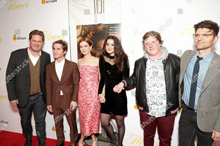 Tim Heidecker, Max Winkler, Zoey Deutch, Dylan Gelula, Joey Morgan, and Adam Scott