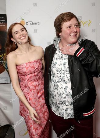 Zoey Deutch and Joey Morgan