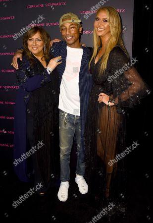 Lorraine Schwartz, Pharrell Williams, Ofira Sandberg