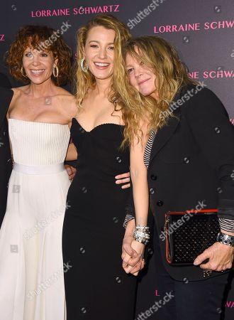 Robyn Lively, Blake Lively, Elaine Lively.